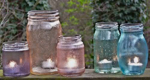Barattoli lanterne con colorante atossico