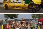 scuola bus a pedali